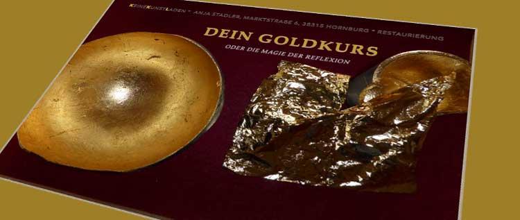 KeineKunstLaden - Goldkurse - Flyer